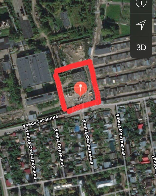 Продажа  участка Гагарина ул