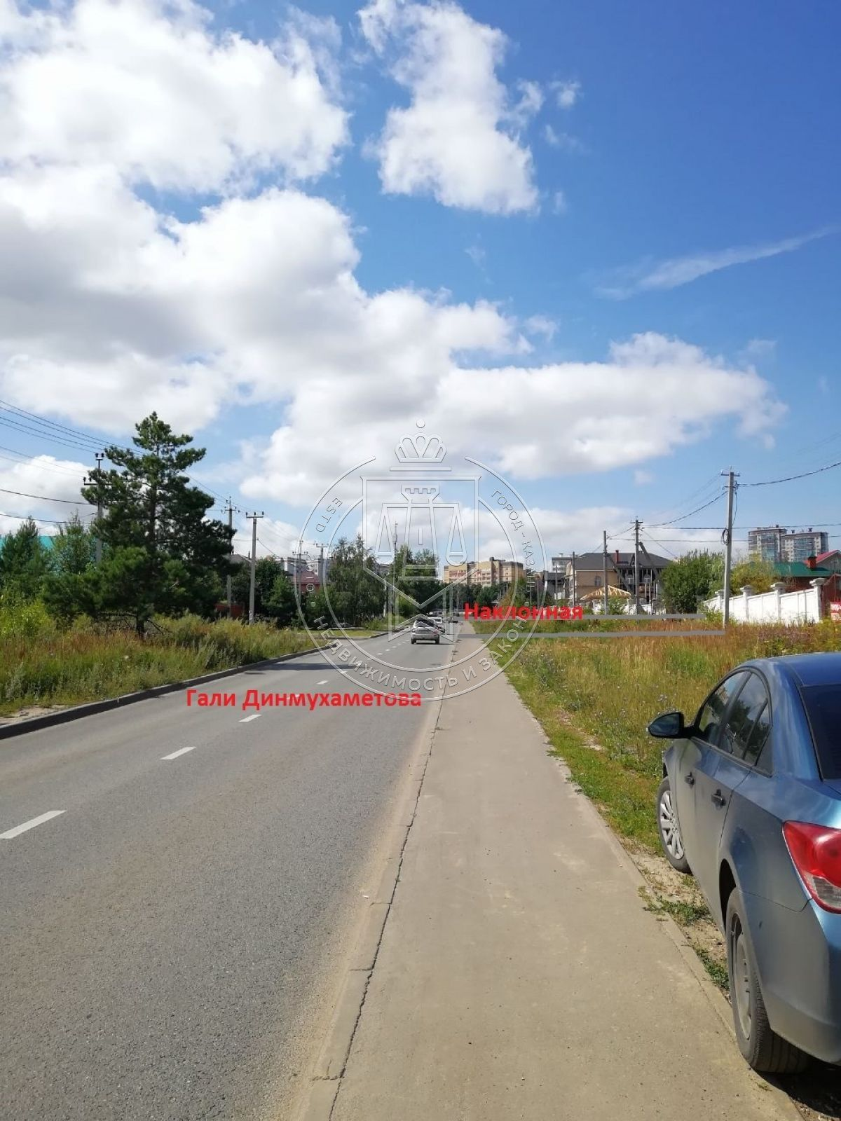 Продажа  участка Вознесение, ул Гали Динмухаметова, 1