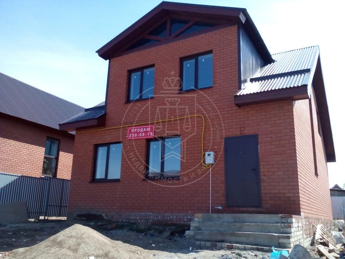Коттедж 135 м² на участке 4 сот., п.Высокая гора, ул. Калиновая (миниатюра №1)