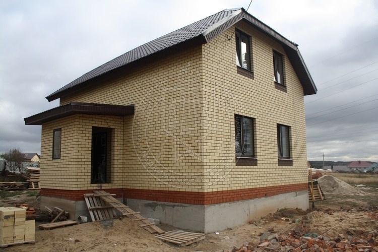 Коттедж 130 м² на участке 5 сот, п.Константиновка,Вишневая (миниатюра №3)