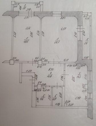 Продажа 2-к квартиры Юлиуса Фучика ул, 151, 84 м2  (миниатюра №2)