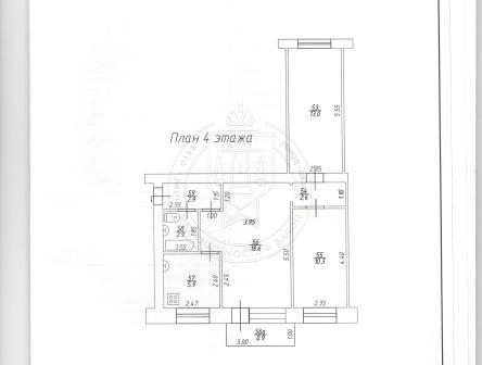 3-к квартира, 60 м², 4/5 эт., Спартаковская,121 (миниатюра №4)