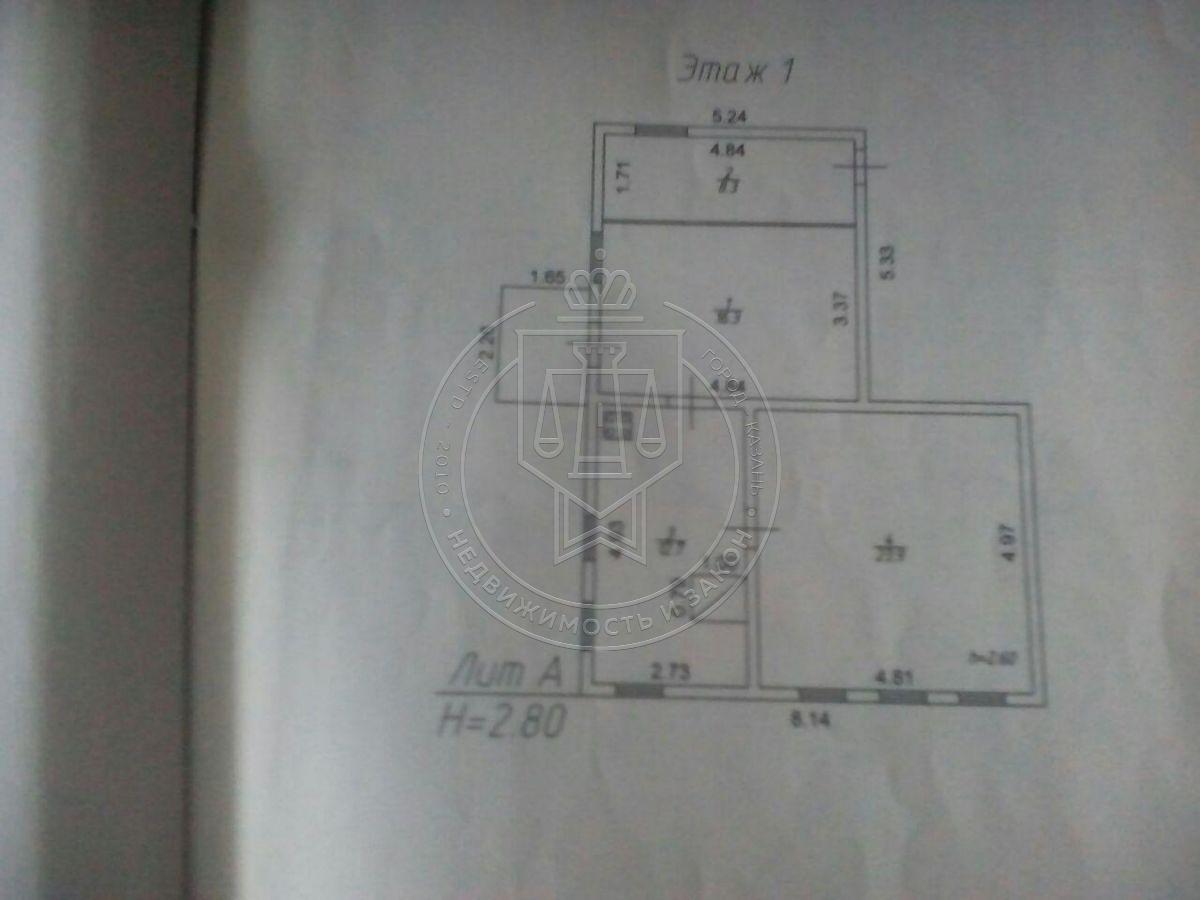 Продажа  дома п. Дубъязы, ул Ленина, Высокогорский район, 61.2 м² (миниатюра №4)