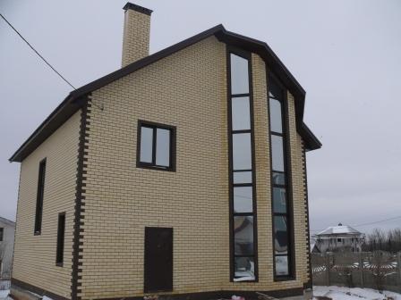 Коттедж 251 м² на участке 7 сот.,п.Вознесенское,ул.Нардуган (миниатюра №1)