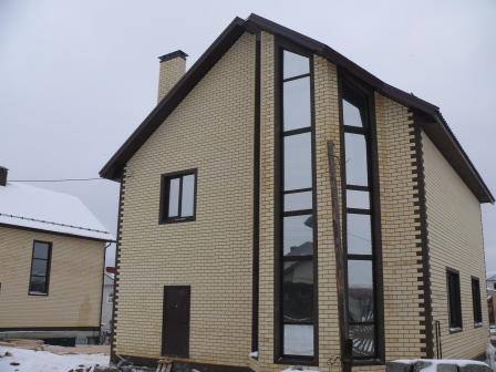 Коттедж 251 м² на участке 7 сот.,п.Вознесенское,ул.Нардуган (миниатюра №2)