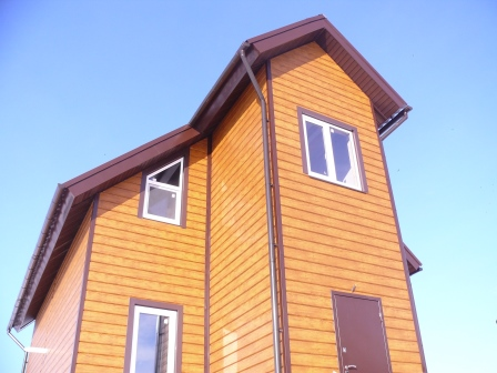 Коттедж 100 м² на участке 2.5 сот.,п.Куюки,ул.Центральная (миниатюра №1)