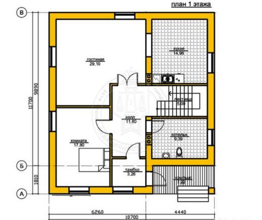 Коттедж 190 м² на участке 5 сот.,п.Салмачи,ул.Атнинская (миниатюра №3)
