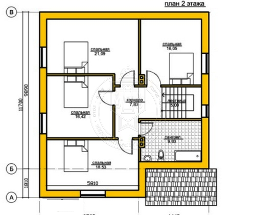 Коттедж 190 м² на участке 5 сот.,п.Салмачи,ул.Атнинская (миниатюра №4)