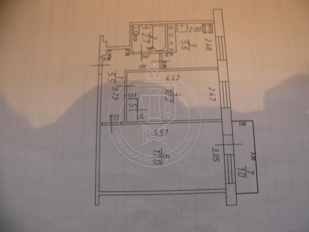 Продажа 2-к квартиры Краснококшайская ул, 174, 42 м²  (миниатюра №5)