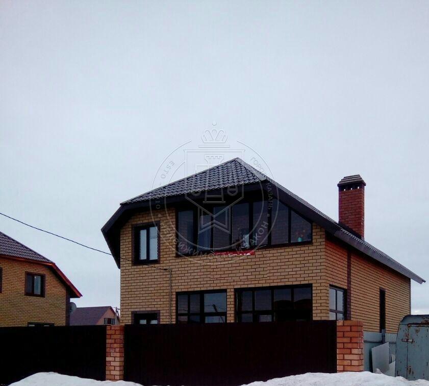 Коттедж 148 м² на участке 4.5 сот.,п.Высокая Гора,ул.Новая (миниатюра №1)