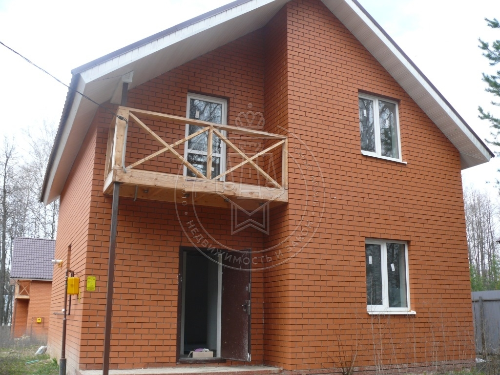 Коттедж 110 м² на участке 5.5 сот.,п.Высокая Гора, ул. Профсоюзна (миниатюра №2)