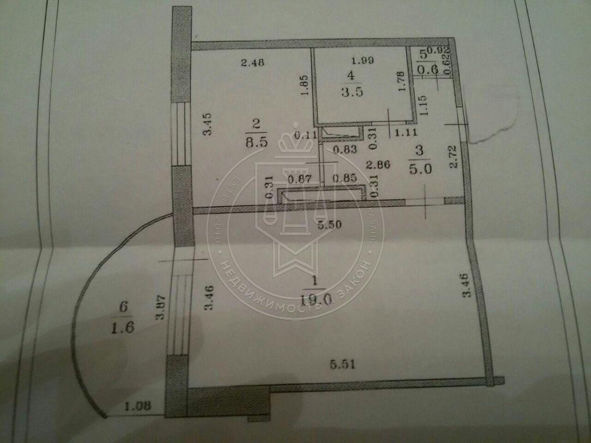 Продажа 1-к квартиры Магистральная ул, 20, 36.0 м² (миниатюра №5)