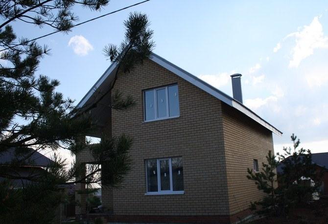 Коттедж 130 м² на участке 4.5 сот, п.Привольный,ул.Юмарт (миниатюра №2)