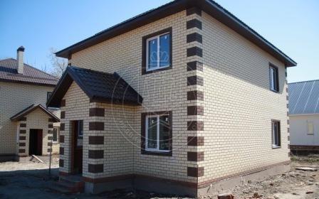 Коттедж 135 м² на участке 4.3 сот.,п.Большие Клыки,ул. Октябрьска (миниатюра №1)