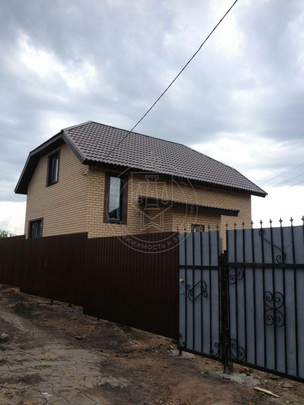 Коттедж 130 м² на участке 5 сот, п.Константиновка,Вишневая (миниатюра №1)