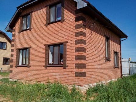 Коттедж 105 м² на участке 5 сот.,п.Нагорный,ул.Поперечно-дорожная (миниатюра №1)
