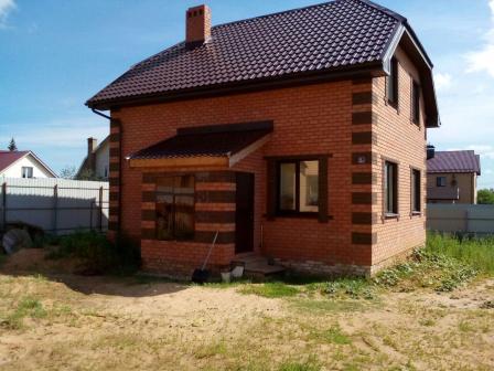Коттедж 105 м² на участке 5 сот.,п.Нагорный,ул.Поперечно-дорожная (миниатюра №2)