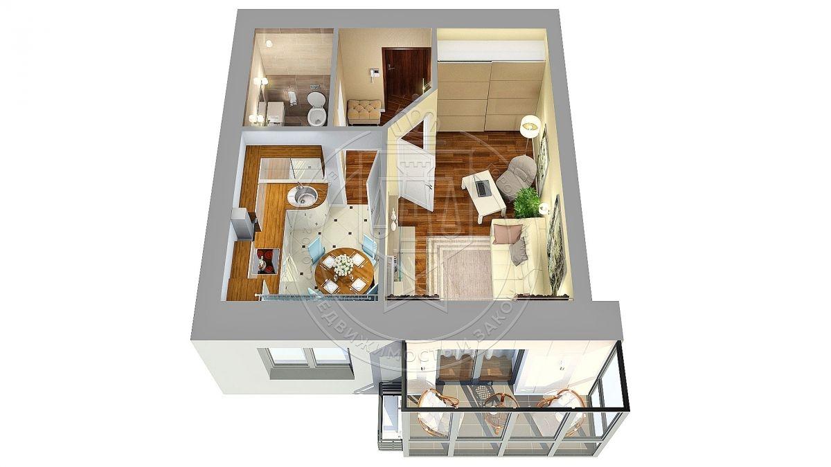 Продажа 1-к квартиры Николая Ершова ул, 62 В, 37.6 м² (миниатюра №5)