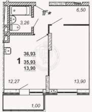 Продажа 1-к квартиры Восстания ул, 82а