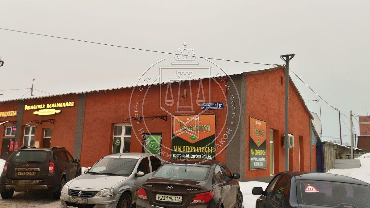 Аренда  помещения свободного назначения Сары Садыковой ул, 61