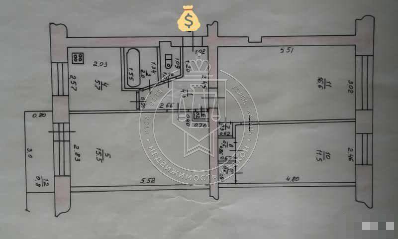 Продажа 3-к квартиры Поперечно-Базарная ул, 72