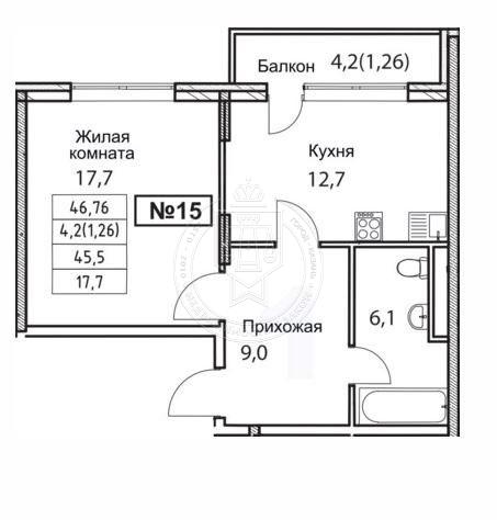 Продажа 1-к квартиры Отрадная ул, 5