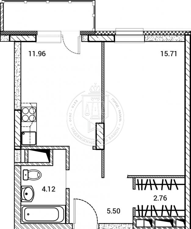 Продажа 1-к квартиры Сиреневая ул, 1-2