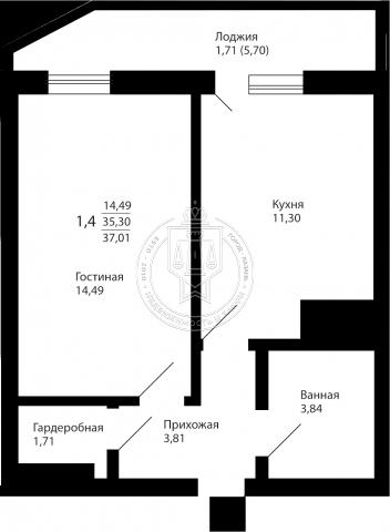 Продажа 1-к квартиры Братьев Батталовых ул, 5-1