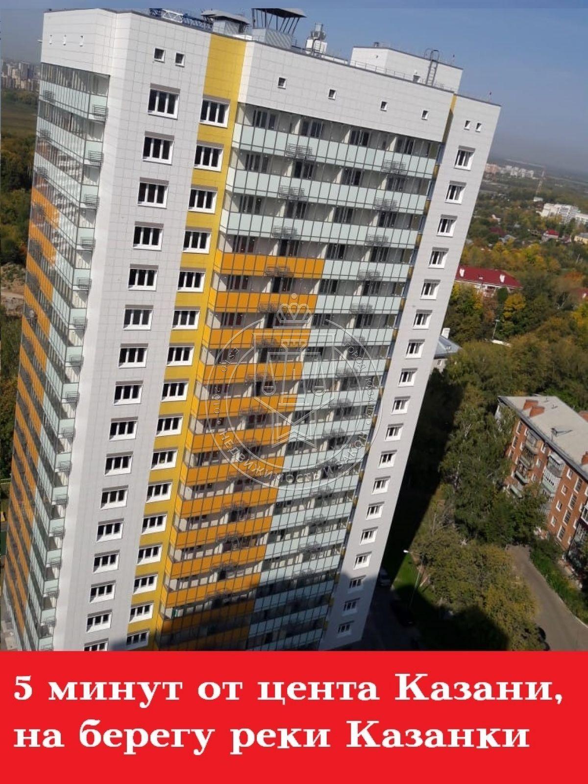 Продажа 2-к квартиры Бари Галеева ул, 8а, корпус 1